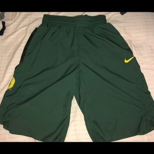 Nike Authentic Oregon Ducks Basketball Shorts